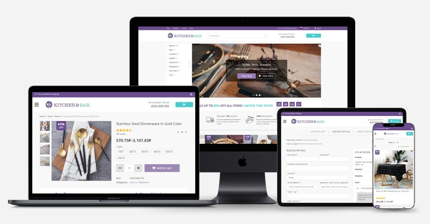 Theme Dropshipping Woocommerce Davinci