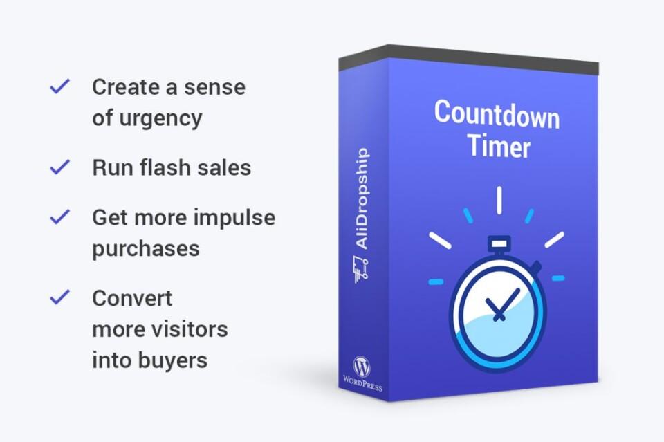 Hướng dẫn AliDropship – Đồng hồ đếm ngược (P23)
