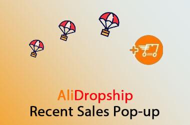Recent Sales Popup